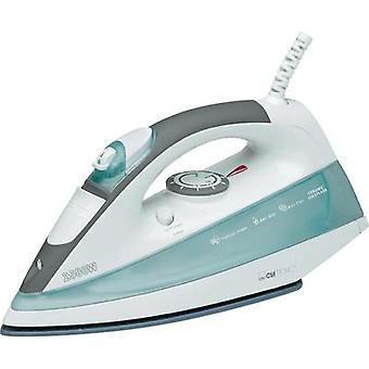 Steam iron Clatronic DB 3329 K White, Light green 2500 W