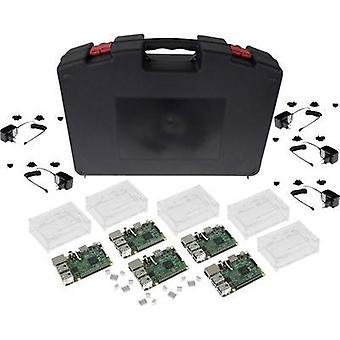 Raspberry Pi® 3 Model B Starter Kit 1 GB w/o OS incl. case, incl. PSU