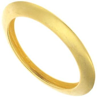 Kenneth Jay Lane Polished Gold Plated Knife Edge Bangle