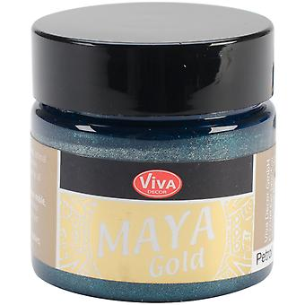 Viva Decor Maya Gold 50ml-Petrol VD1232-70434