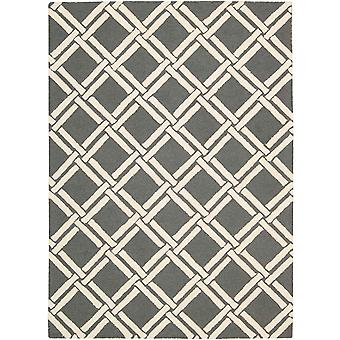Linear Rugs Lin04 In Grey And Ivory