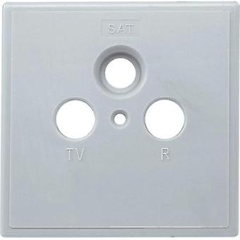 Antenna socket cover TV, FM, SAT Axing