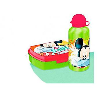 Import September Cantimplora With Pvc Mickey Sandwichera