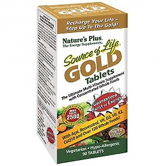 Natures Plus - Source of Life Gold Tablets 180VTabs