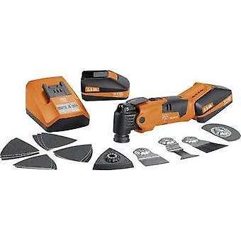 Multifunction tool incl. spare battery, incl. case 24-piece 18 V 2.5 Ah Fein MultiMaster AFMM 18 QSL 71292261000
