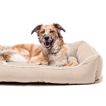 Dog Gone Smart Lounger Bed Sand 81x71cm