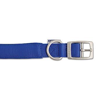 Patrimonio Nylon acolchado cuello azul 25mm X55-63 cm Sz 8