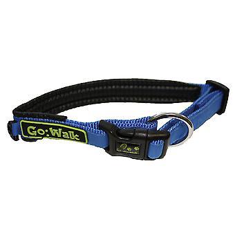 Go Walk Padded Adjustable Collar Blue 47.5-52.5cm