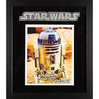 Star Wars - R2-D2 Kenny Baker Film Photo - signée encadré Artist Series