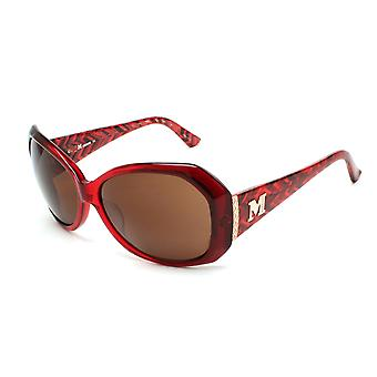 Missoni Women's Zig Zag Oversized Sunglasses Red