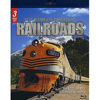 World's Greatest Railroads [BLU-RAY] USA import