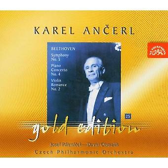 Ancerl Checo Po - Beethoven: Sinfonía nº 54; Concierto para piano n º 4; Violin Romance no. 2 [CD] USA importar