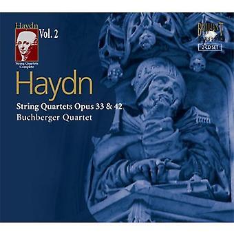 J. Haydn - Haydn: String Quartets Opus 33 & 42 [CD] USA import