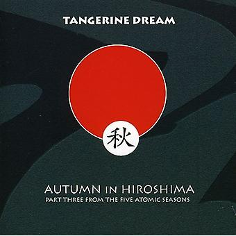 Tangerine Dream - Autumn in Hiroshima [CD] USA import