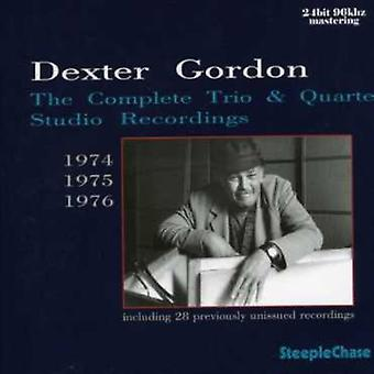 Dexter Gordon - Dexter Gordon: Komplet Trio & Kvartetten Studio [CD] USA import