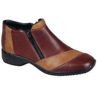 Rieker Panel Womens Ankle Boots