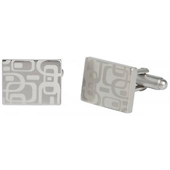 Simon Carter West End 60 s modèle Cufflinks - Silver