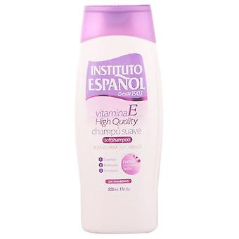 Instituto Español Vitamina E Shampoo 500ml (Donna , Cura dei Capelli , Shampoo)