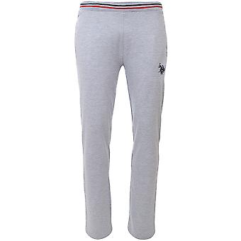 AMERIKANSKE POLO ASSN. Sweatpants bukser mænds sweatpants grå 115 42970 51910 280
