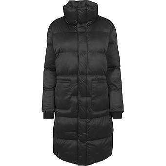 Urban Classics Ladies - Oversized Puffer Mantel schwarz