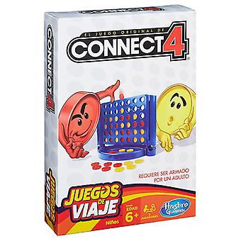 Hasbro Connect 4 Travel (Spielzeuge , Brettspiele , Strategie)