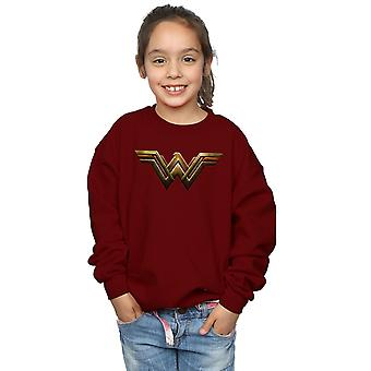 DC Comics Girls Justice League Movie Wonder Woman Emblem Sweatshirt