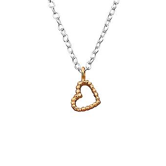 Heart - 925 Sterling Silver Plain Necklaces - W27840x