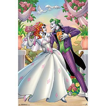 Harley Quinn and Joker - Romance Poster Poster Print