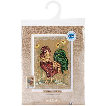 At The Crack Of Dawn Ii Counted Cross Stitch Kit 4 3 4