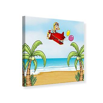 Canvas Print Flying Monkey