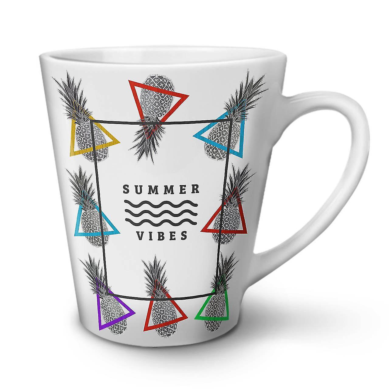 Summer Tasse Sun 12 En Blanche Céramique OzWellcoda Latte Vibes Nouvelle Café QWrCedxBo