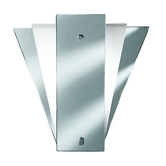 Deco Fan Style Frost/mirror Wall Bracket - Searchlight 6201