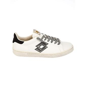 Lotto men's S5788BIANCO White leather of sneakers