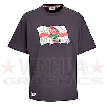 RFU England Flag Tee Junior [navy]