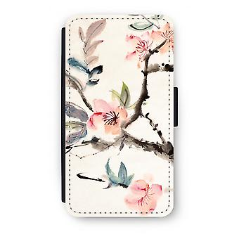 Samsung Galaxy S6 Edge Flip Case - Japenese flowers