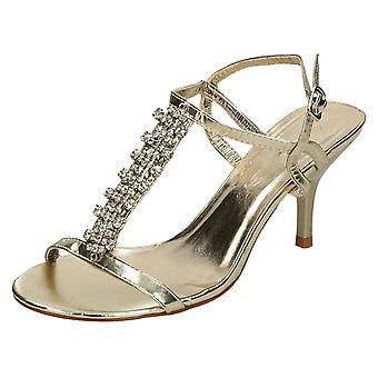Lugar de damas en sandalias de tiras F1708