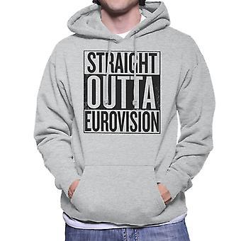 Straight Outta Eurovision män är Hooded Sweatshirt