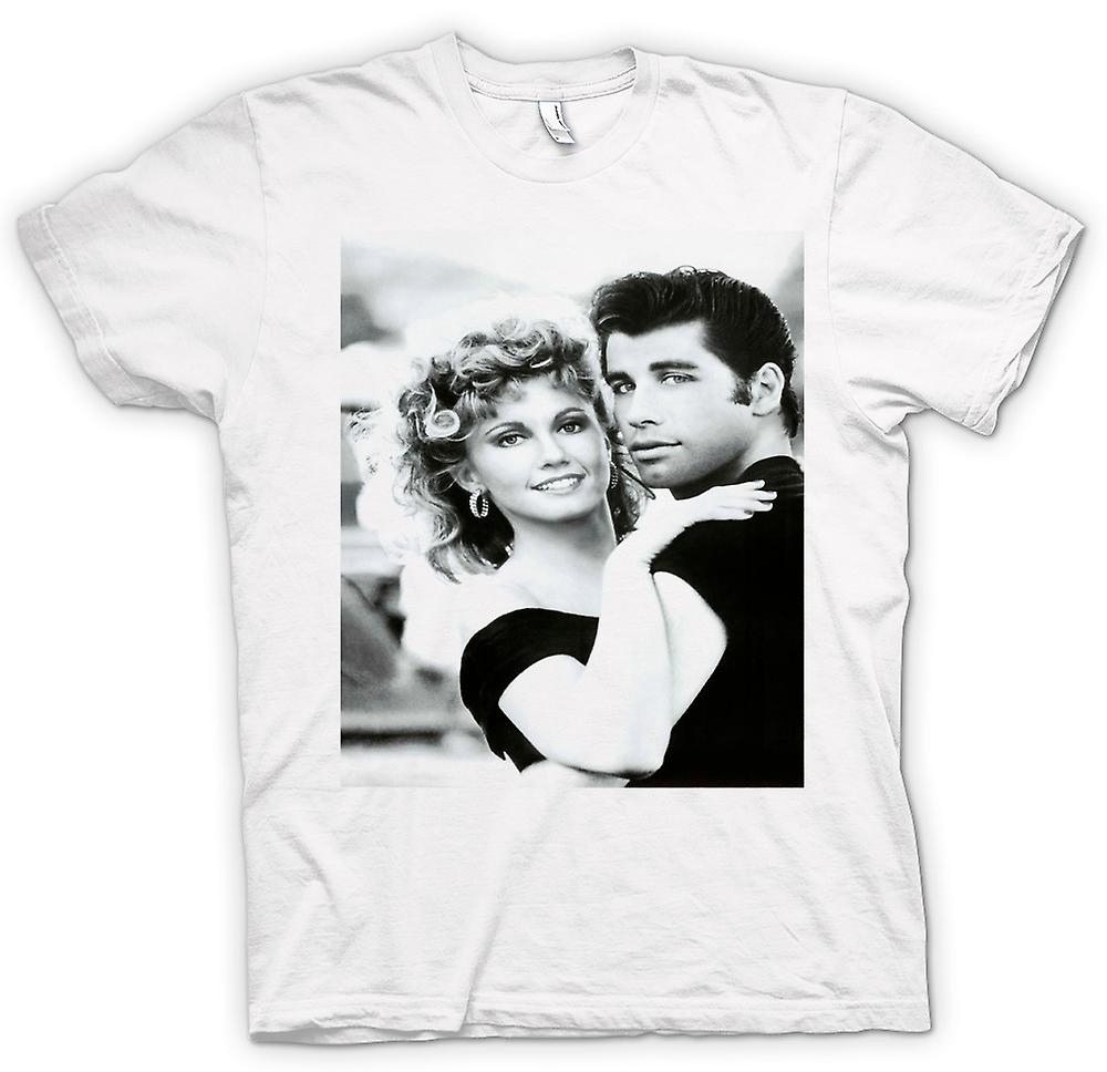 Womens T-shirt - Grease - Sandy And Danny