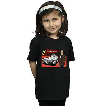 Pennytees Girls Crazy Taxi Fahrer T-Shirt