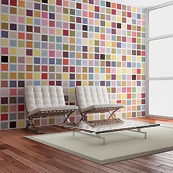 Wallpaper - Mosaic of colors