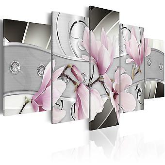 Tableau - Magnolias en acier