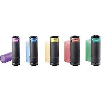 Facom NSI.5LPB NSI.5LPB Hex head Bit set (protective) 5-piece 1/2 (12.5 mm)