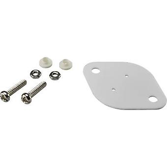 Semiconductor mounting set (L x W) 42 mm x 30 mm Suitable for TO 3 SCI A18-10B 1 Set