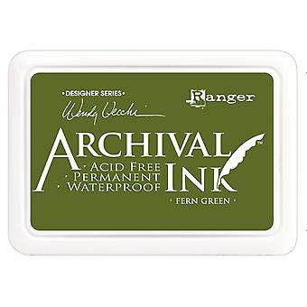 Wendy Vecchi Designer Series Archival Ink Pad-Fern Green
