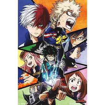 My Hero Academia - Faces Poster Print