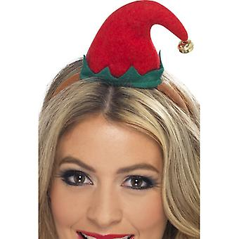 Mini hair mature Boppers Elf Christmas Elf Elf hat has