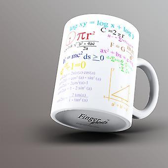 Wiskunde-vergelijkingen-mok