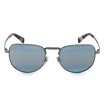 Valentino Square Sunglasses VA2012 30057C 49 Blue to Gray Gradient Lenses