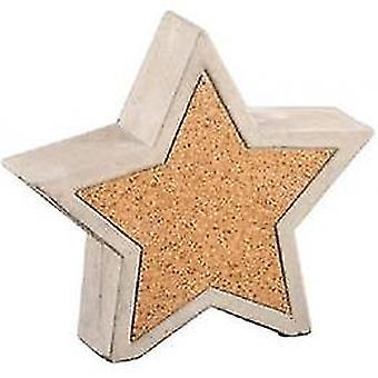 Weihnachten Dekoration Bild des Sterns 20x5x18cm