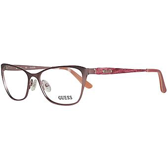 Guess glasses ladies Rosé gold
